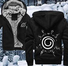 Japanese Anime Naruto Uzumaki Thicken Christmas Sweater Hoodie Coat #TR012