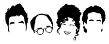 Seinfeld Vinyl Decal Wall/Window Sticker