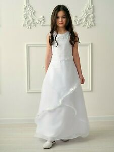 Kommunionkleid Festkleid Kommunionskleid Bolero - Jacke communion dress *Mia