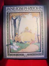 1918 Jane, Joseph & John, Their Book of Verses (Maurice Day illustr.) Bergengren