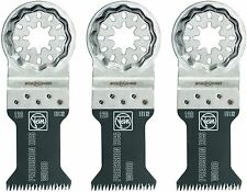 FEIN PRECISION BLADES STARLOCK  63502126270 FITS MOST OSCILLATING TOOLS 3  Pk