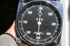 Vintage Motorola Jones NOS 900 RPM Tachometer Crescent Needle - Type C S6