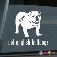 Got English Bulldog Mom Sticker Die Cut Vinyl - British Bull Dog