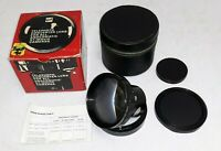 GAF Telephoto Converter Lens for Anscomatic ST/Movie Cameras in Box