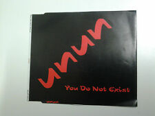 Unun You Do Not Exist CD Single (Icelandic / Sugacubes)