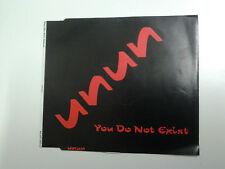 Unun You Do Not Exist CD Single (Icelandic / Sugacubes)