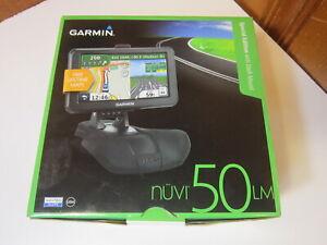 "Garmin Nuvi 50LM Navigator GPS System w/ Lifetime Maps 5"" NEW Open Box"