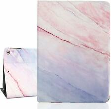 For iPad 10.2 2019 Air 3/Pro 10.5 Marble Smart Magnetic Leather Case Stand Cover