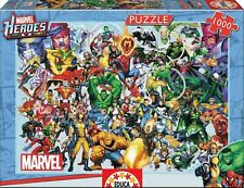 Marvel Collage of Heroes 1000 Piece Jigsaw Puzzles Disney Cartoon