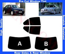 Passgenaue Tönungsfolie BMW 5er E39 Limousine4T 95-03 Heck/Seitenscheiben 5%-50%