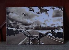 Feel Motorcycle Metal Tin Signs Home Pub Bar Wall Decor Garage Poster