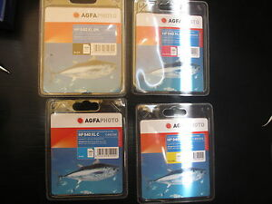 AGFA PHOTO ORIGINAL C4909AE HP 940 XL SET BK C M Y officejet pro 8000 8500