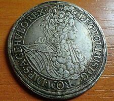Austria-Habsburg Silver 1 Thaler 1695 Emperor Leopold I 1658-1705 AD