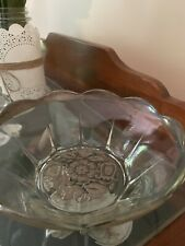 Georges Briard Signed Silver Glass Bowl 8� X 3 1/2�