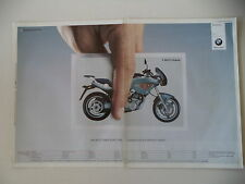 advertising Pubblicità 2003 MOTO BMW F 650 CS SCARVER