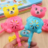 Baby Rattles Toy Intelligence Hand Bear Bell Rattle Funny Educational Toys*Gifts
