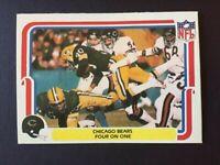 "1980 Fleer CHICAGO BEARS  #8 ""Four on One"" Tom Hicks Illinois Illini"