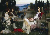 John William Waterhouse: Saint Cecilia. Fine Art Print/Poster