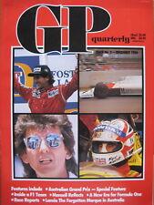 F1 - GP quarterly Australia - December 1986 - issue No. 2