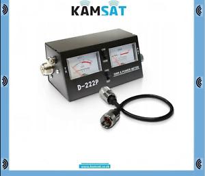 CB RADIO ANTENNA SWR WATT POWER METER D222 P +  PATCH LEAD 50CM PL259