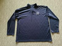 EUC Dallas Cowboys Authentic Wear Men's Pullover Color Blue Size 2XL XXL