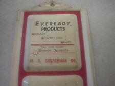 Vintage Eveready Products Metal Thermometer