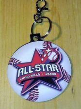 BAG TAG LOT of 10 - Baseball Little League Custom Ball Shape Christmas Ornament