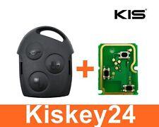 3Tasten Schlüssel Gehäuse + Fernbedienung Platine für Ford Fiesta Mondeo Transit