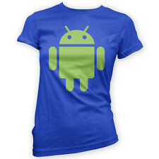 For Android Womens T-Shirt -x14 Colours- Developer Phone Tablet Hobby Mod Game