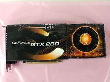 EVGA NVIDIA GeForce GTX 280 1GB GDDR3 SDRAM PCI-E 2.0 x16 SLI  01G-P3-1282-TR