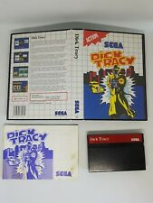 Dick Tracy | SEGA Master System PAL | Complete with Manual