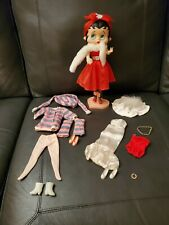"11"" Betty Boop Doll With Two Additional Outfits & Shoes"
