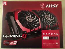 MSI Radeon RX 580 Gaming X 8GB + FREE Riser