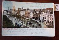 Postkarte Ansichtskarte Hamburg Lithografie ST.Pauli
