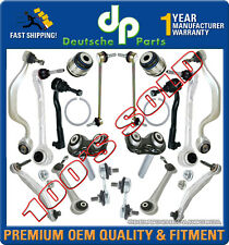 BMW E39 540i M5 FRONT REAR Control Arm Ball Joint Tie Rod Sway Suspension Kit