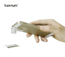 Supereyes S001 200X Digital Microscope ovulation check on iPhone, android phone