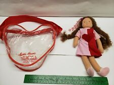 Kathe Kruse Mini It's Me Doll 10.5 in. with Heart-Shaped Carrying Purse Germany