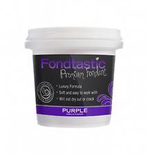 Fondtastic Premium Vanilla Flavoured Fondant Purple 225g