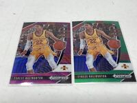 2020-21 Prizm Draft Picks Tyrese Haliburton Lot of 2 Green & Purple Wave Rookie