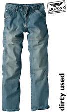 Nuevo: precisamente caballeros 5-Pocket jeans Patch-fit N-talla 44 arizona Dirty Blue * 540291