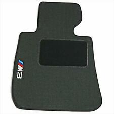 BMW Black Carpet Floor Mats w/Heel Pad 2008-2013 E93 M3 Convertibles 82112293540