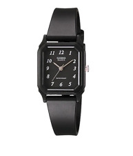 Casio LQ-142-1BDF Black Rubber Strap Watch for Women