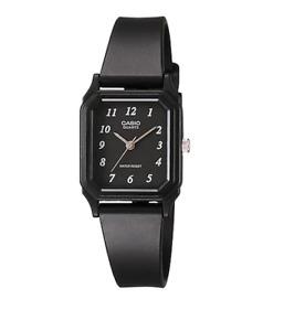 Casio LQ-142-1BDF Black Rubber Strap Watch for Women