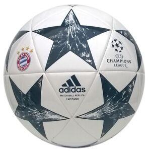 ADIDAS FC BAYERN MÜNCHEN FINALE 17 FUSSBALL CHAMPIONS LEAGUE BALL BS3470 FCB