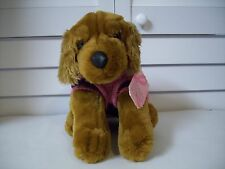 Foley's Breast Cancer Research plush Dog with pink Sweater