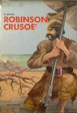 ROBINSON CRUSOÈ - Daniel Defoe - Malipiero editore 1969