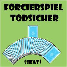 """Forcierspiel """"Todsicher/Skat"""" - Gezwungene Wahl mit genial einfacher Force 09517"""