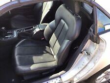 Mercedes Benz SLK R170 Passenger Side LH seat black leather