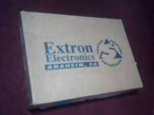 Extron VSC 100GX Computer-to-Video Scan Converter COMPLETE - NTSC RGB MAC PC