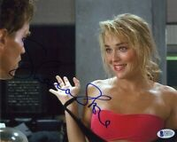 Sharon Stone Total Recall Autographed Signed 8x10 Photo Beckett BAS COA